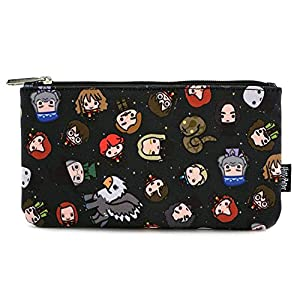 Loungefly Harry Potter Character All Over Print Cosmetic Pouch Bag