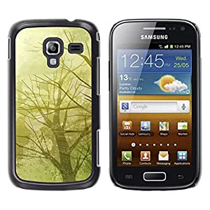 Stuss Case / Funda Carcasa protectora - The Interlocking Stems - Samsung Galaxy Ace 2