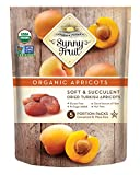 ORGANIC Turkish Dried Apricots – Sunny Fruit – (5) 1.76oz Portion Packs per Bag | Purely Apricots – NO Added Sugars, Sulfurs or Preservatives | NON-GMO, VEGAN, HALAL & KOSHER