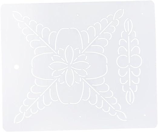 B Baosity 1pc Plantilla De Dibujo De Plástico Plantilla para ...