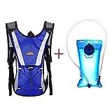 Lookatool Water Bladder Bag Backpack+Hydration Packs Camelbak Hiking Camping 2L