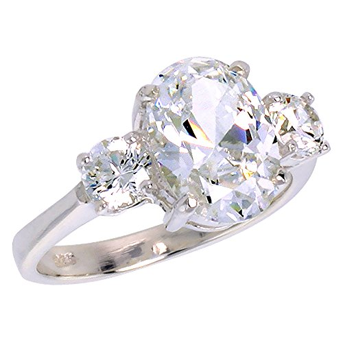 Sterling Silver Cubic Zirconia