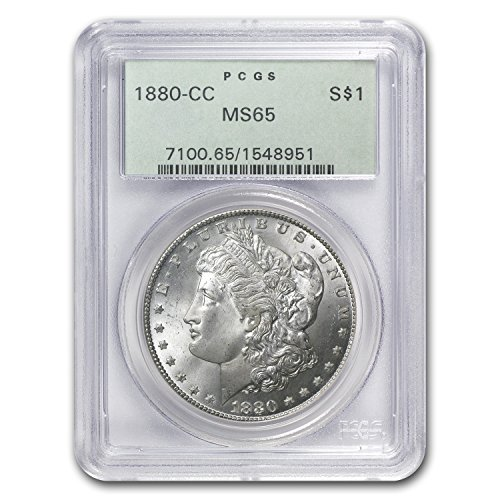 1880 CC Morgan Dollar MS-65 PCGS $1 MS-65 PCGS