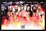 WWE - Collage Lamina Framed Poster 38 x 26in