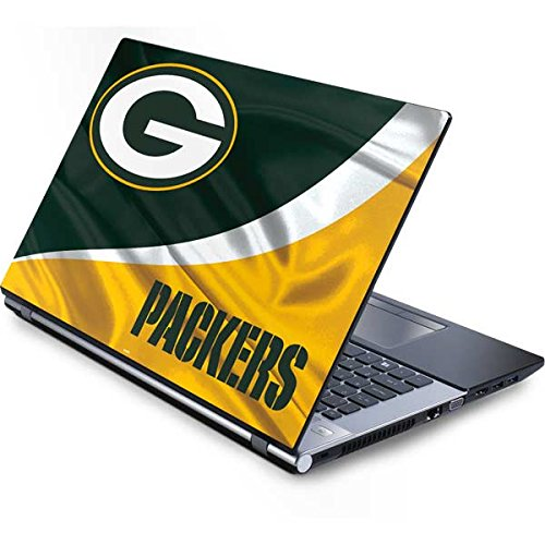 Skinit Protective Skin (fits latest Generic 17-Inch Laptop/Netbook/Notebook); NFL Green Bay Packers Logo (Laptop Packers Bay Green Generic)
