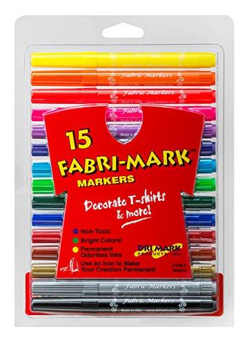Drimark Fabri-Mark 15-Pack