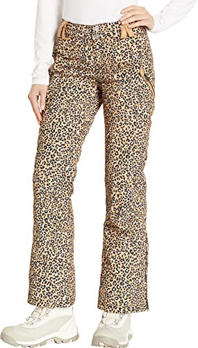 (Obermeyer Women's Harlow Pants Safari Leopard 4 R)