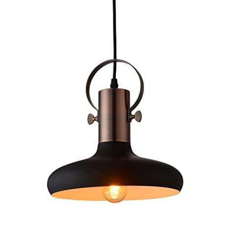 Mstar Industrial Black Mini Pendant Light Metal Hanging Ceiling