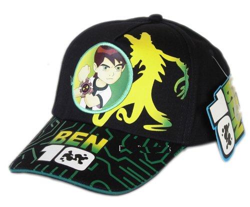 c6da4e91090ea Image Unavailable. Image not available for. Color: Black Ben 10 Baseball Hat  - Kids Size ...