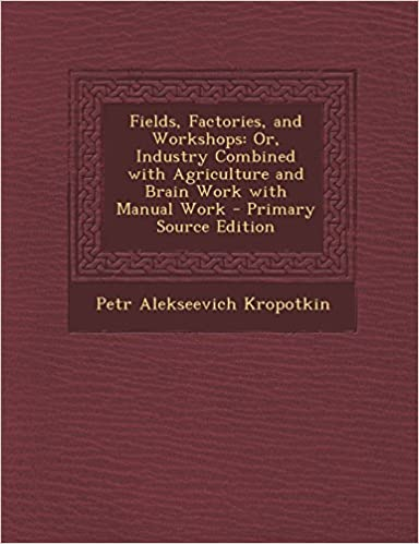 Kostenlose E-Book-Downloads als PDF Fields, Factories, and Workshops: Or, Industry Combined with Agriculture and Brain Work with Manual Work - Primary Source Edition PDF 1295808927