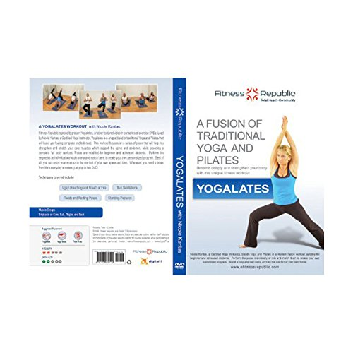 Fitness Republic Yogalates DVD, Combination of Yoga and Pilates (Fitness DVDs)