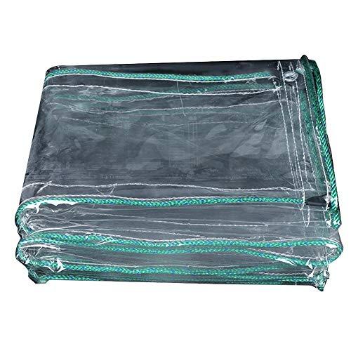 犯す寛大さ導入するCHAOXIANG ターポリン サンシェード 厚い 耐寒性 トランスペアレント 日焼け止め プラスチッククロス PVC 厚さ0.70mm、 23サイズ、 カスタマイズ可能な (色 : クリア, サイズ さいず : 1x4.8m)