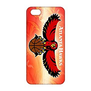 TYH - SHOWER 2015 New Arrival atlanta hawks logo 3D Phone Case for iPhone 5S phone case
