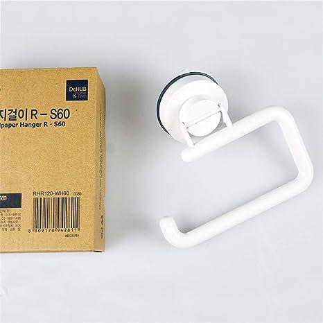 Syogo Portavasos De Papel Higiénico Titular De Toallas De Papel Higiénico Blanco: Amazon.es: Hogar