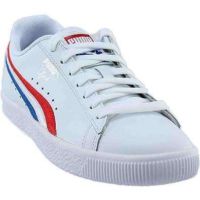 pretty nice 73f9b 0f97a Amazon.com: PUMA Kids Mens Clyde 4th of July (Big Kid): Shoes
