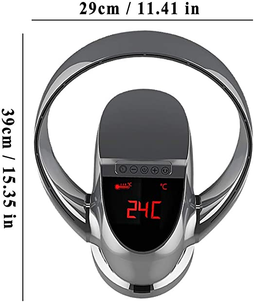 Ventilador sin aspas Mando a Distancia Control Remoto Silencio ...