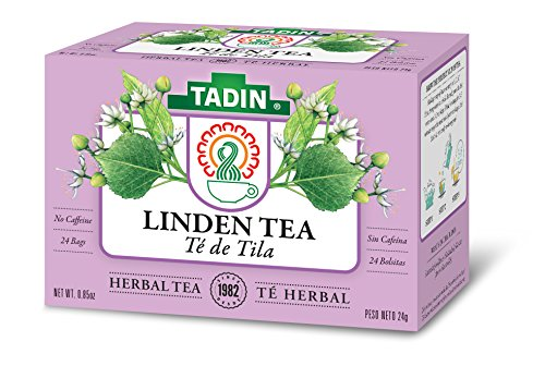 - Tadin Herb & Tea Co. Linden Herbal Tea, Caffeine Free, 24 Tea Bags, Pack of 6