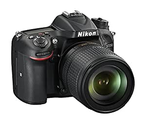 Nikon D7200 + AF-S DX NIKKOR 18-105mm f/3.5-5.6G ED VR Juego de cámara SLR 24.2MP CMOS 6000 x 4000Pixeles Negro - Cámara digital (24,2 MP, 6000 x 4000 Pixeles, CMOS, 5,8x, Full HD, Negro)
