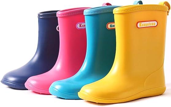 f1eba82894d3 Kids Wellies Baby Rubber Rain Boots Boys Girls Waterproof Wellington Water  Shoes. Kids Wellies Baby Rubber Rain Boots Boys Girls Waterproof Wellington  Water ...