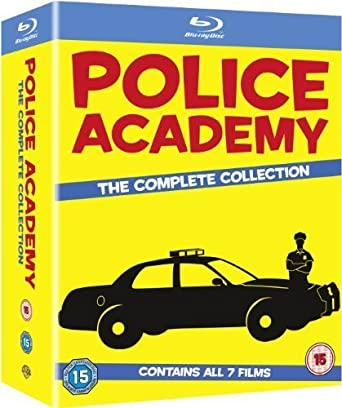 Amazon com: Police Academy 1-7: The Complete Collection [Blu