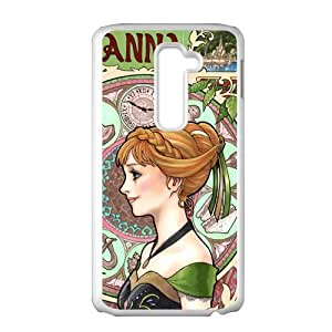 Happy Frozen Princess Anna Cell Phone Case for LG G2