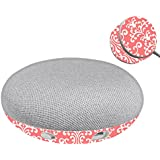 MightySkins Skin for Google Home Mini - Coral Damask | Protective, Durable, and Unique Vinyl Decal wrap Cover | Easy to Apply, Remove, and Change Styles | Made in The USA