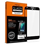 Spigen Full Cover Glass Google Pixel Screen Protector with Tempered Glass for Google Pixel - Quite Black