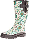 M&F Western Women's Lilian Ivory/Turquoise/Brown Boot
