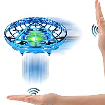 SPECOOL Mini UFO Drone Ball Juguete Volador FUNCUBE Helicóptero De ...