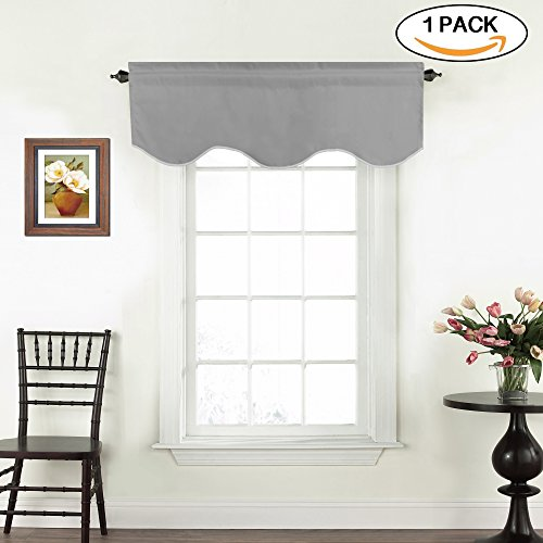 Grey Valances for Windows Curtain Valances for Bathroom - 52