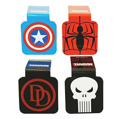 Ata-Boy Marvel Comics Logos Assortment #1 Set of 4 1