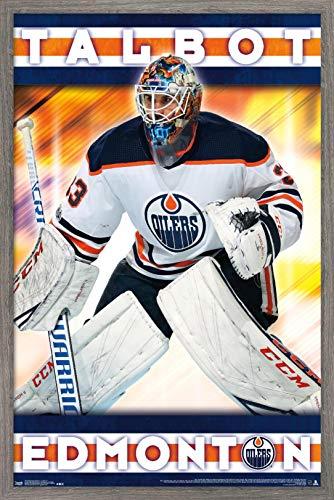 Trends International NHL Edmonton Oilers - Cam Talbot Wall Poster, 22.375