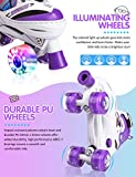 Kuxuan Doodle Design Roller Skates Adjustable for