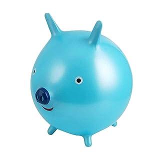 Toyvian Palla Saltare Bambini Palla Rimbalzante (Blu) 45cm