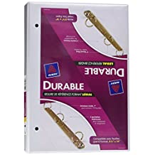 "Avery 16500 White Legal Reference 1"" 3 Ring Round Binder, 175 Sheet Capacity"