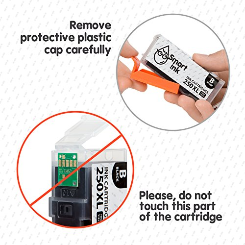 Smart Ink Compatible Ink Cartridge Replacement Canon PGI 250 XL CLI 251 XL 18 Pack(6 PGBK & 3 BK/C/M/Y) for Canon PIXMA MX922 722 MG5420 5422 5520 5522 5620 6420 6620 7520 6320 7120 IP7220 8720 IX6820 Photo #4