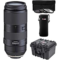 Tamron 100-400mm f/4.5-6.3 Di VC USD Lens for Canon EF Bundle