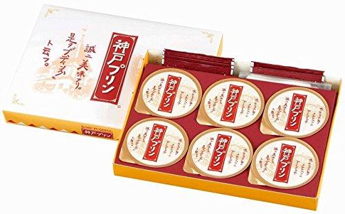 Kobe pudding 6 pieces by Toraku Co., Ltd.