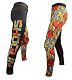 Shogun Fight Koi BJJ Jiu Jitsu Compression Pants Spats (L)