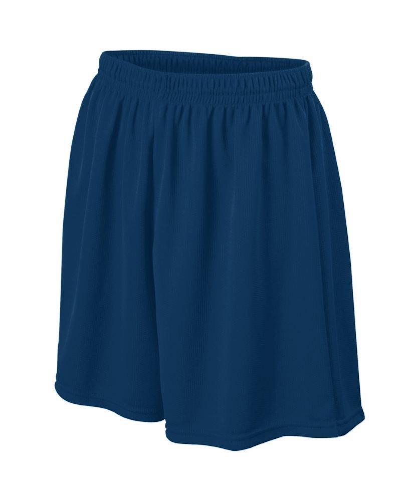 Augusta Sportswear Boys ' WickingメッシュSoccer Short B008KD34OSネイビー Medium