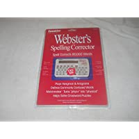 Websters Spelling Corrector and Games NCS101