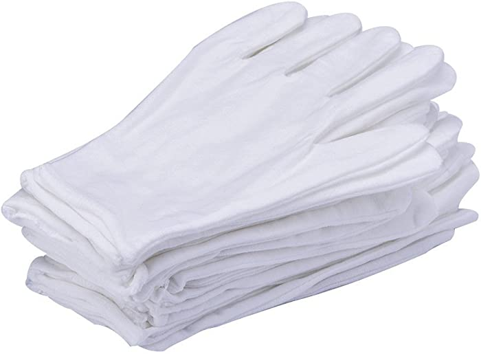 Top 7 White Cotton Gloves Reusable For Food
