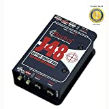 Radial Engineering J48 Phantom Powered Active Direct Box with 1 Year Free Extended Waranty