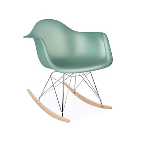 Awesome Amazon Com Eames Replica Rar Mid Century Modern Rocking Arm Gmtry Best Dining Table And Chair Ideas Images Gmtryco