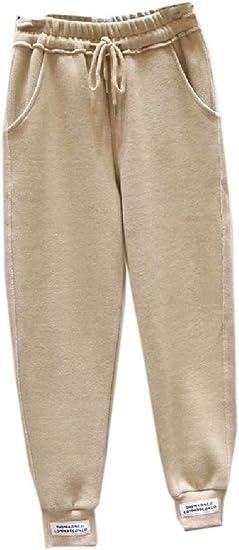 VITryst Women Fall Winter Elastic Waist Plain Long Pants Harem Pants