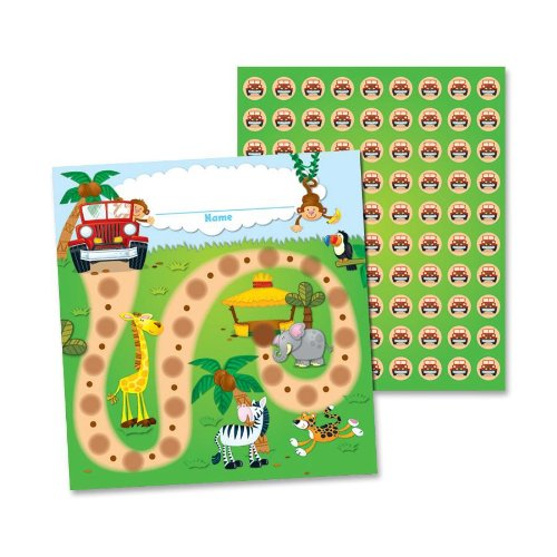 Incentive Charts For Teachers (Carson Dellosa Jungle Safari Mini Incentive Charts)