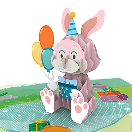 Colorpop Cards Bunny Birthday Birthday Pop Up Card, Happy birthday 3D card, Birthday pop up card, Birthday Card, Pop Up Cards, Funny popup Greeting Card, Anniversary Card, Mothers day card