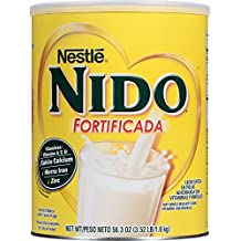 NESTLE NIDO Fortificada Dry Milk 56.3 oz. Canister