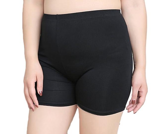 negozio online 2e248 d3d42 Liangzhu Donna Mutande Leggings di Pizzo Skinny Stretti Slip ...