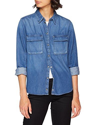 Pepe Donna denim Gf8 Jeans Blu Nina Camicia Fr4PFT